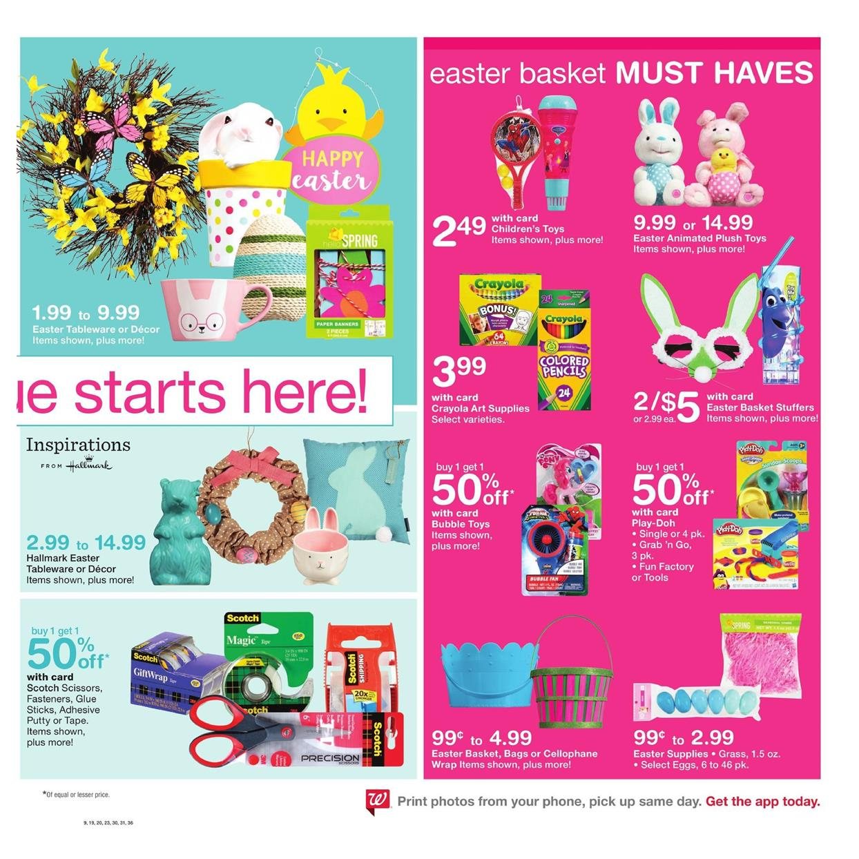 walgreens weekly ad march 26 2017