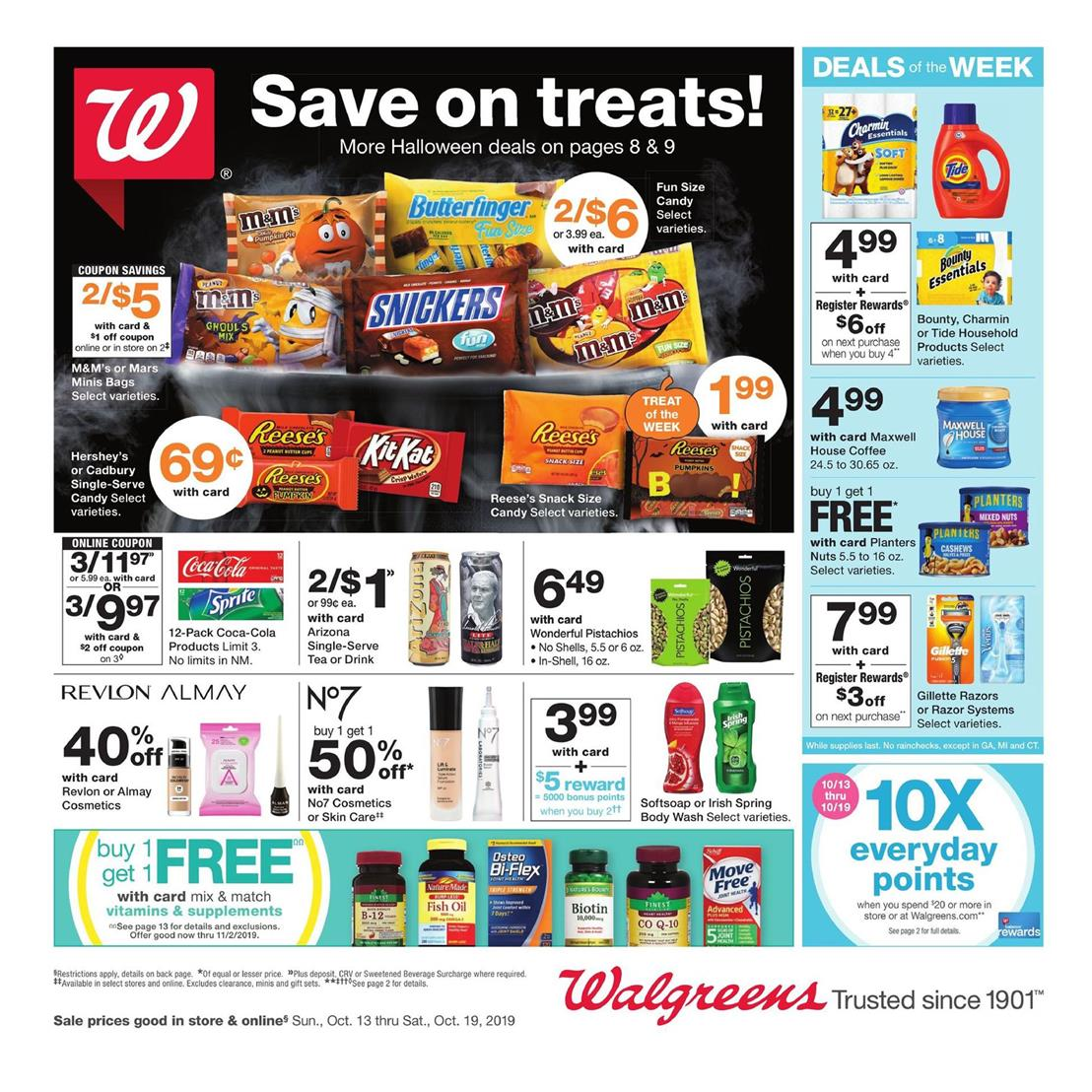 walgreens weekly ad oct 13 2019