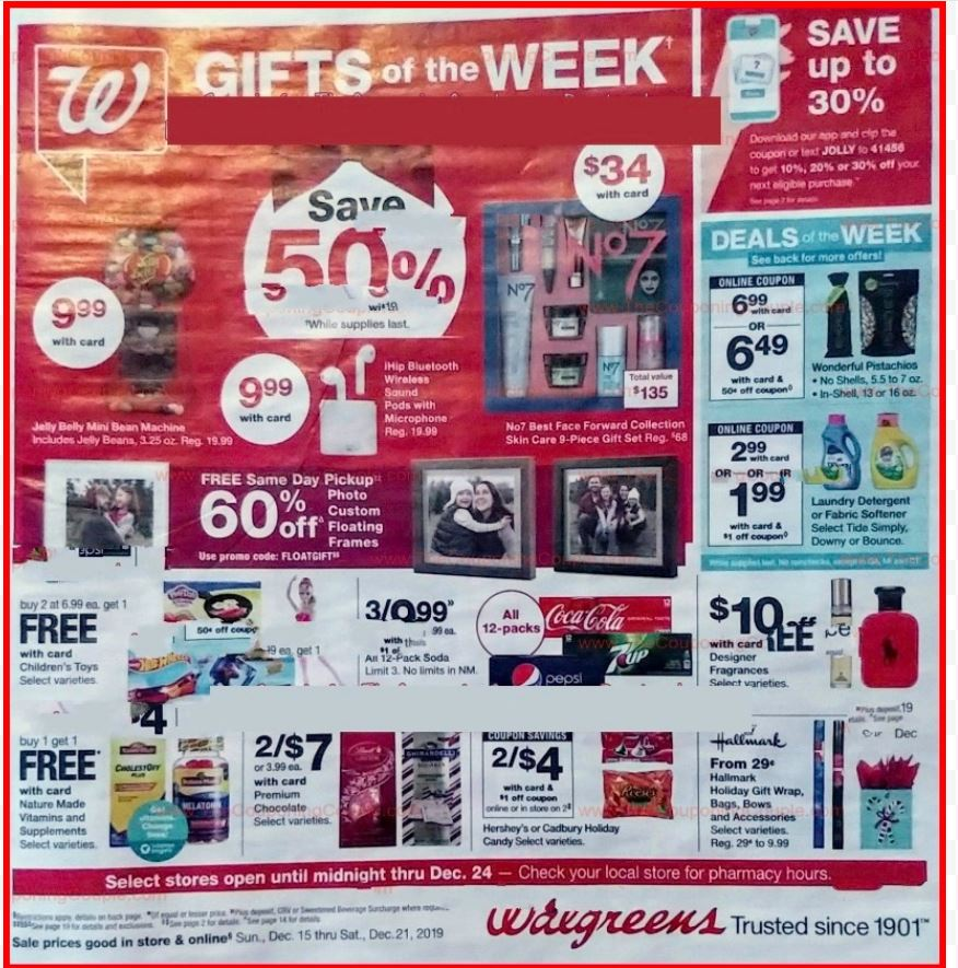 walgreens weekly ad preview dec 15 2019