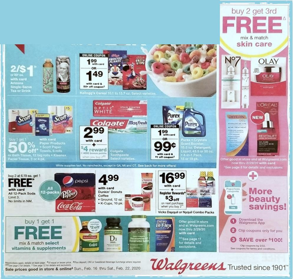 walgreens weekly ad preview feb 16 2020