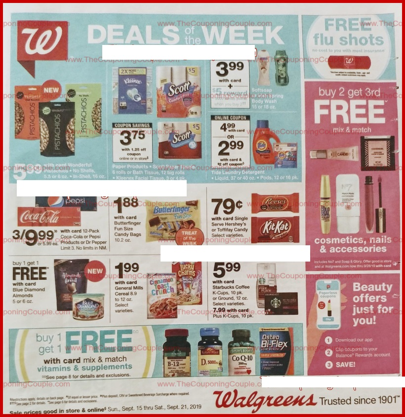 walgreens weekly ad preview sep 15 2019