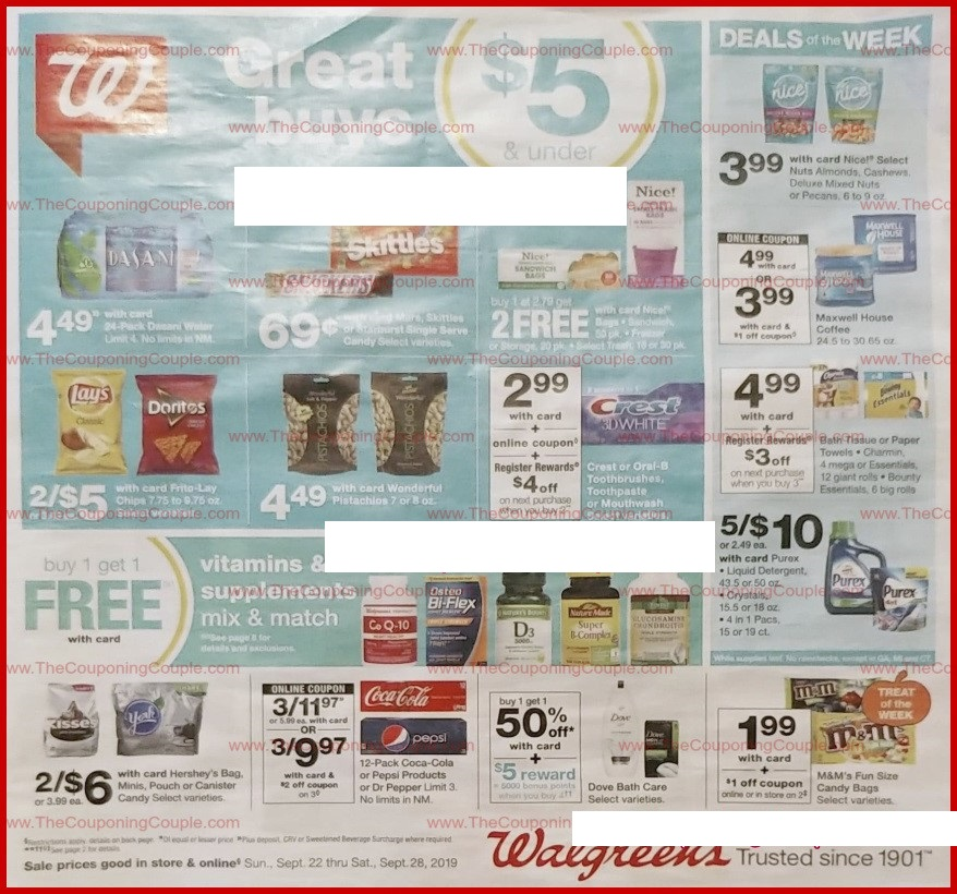 walgreens weekly ad preview sep 22 2019
