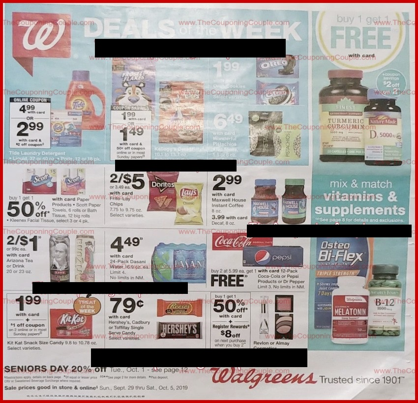 walgreens weekly ad preview sep 29 2019
