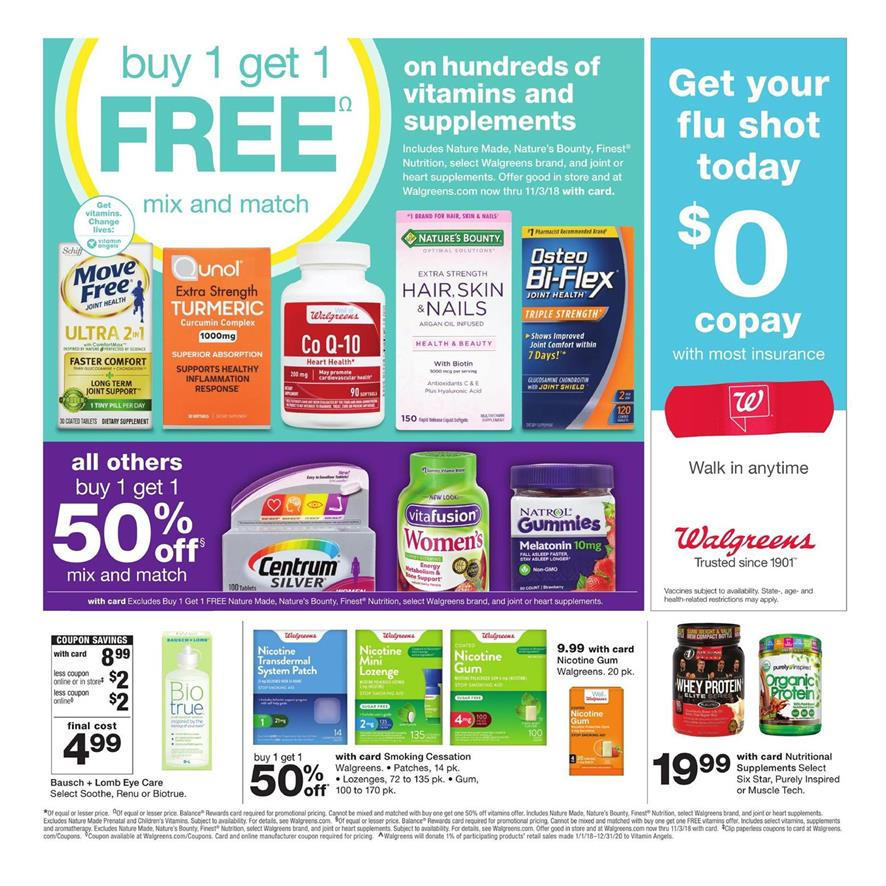 walgreens weekly ad sep 16 2018
