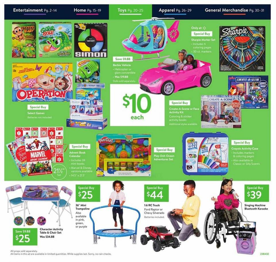 Walmart Black Friday Ad 2019 Ride-Ons and More Outdoor Toys