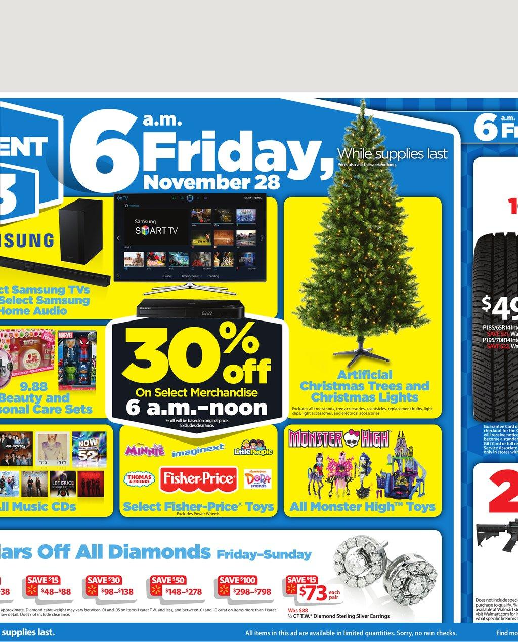 walmart black friday deals huge range 2014