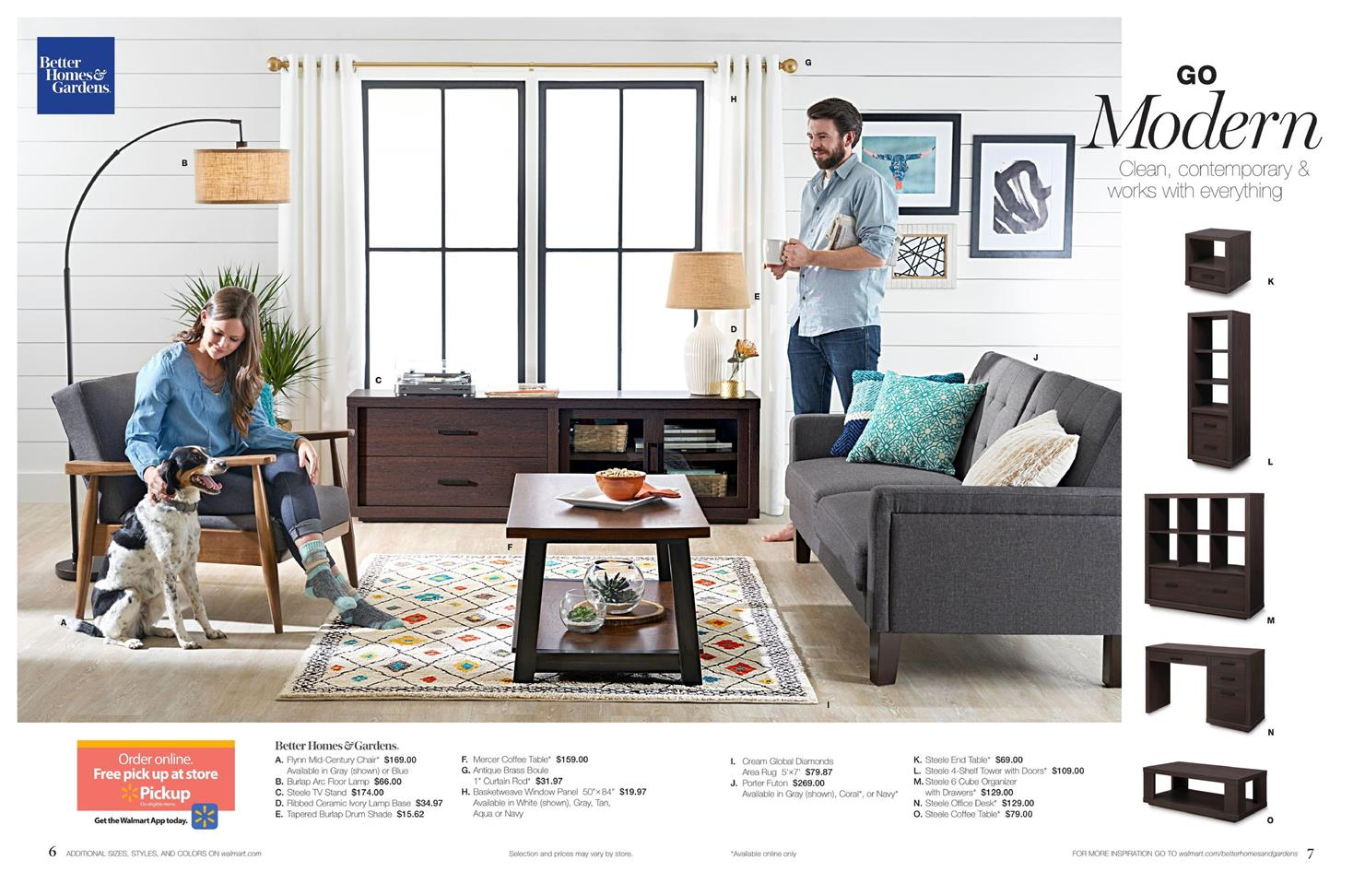 Walmart ad home decor july 2017 for 4 home decor