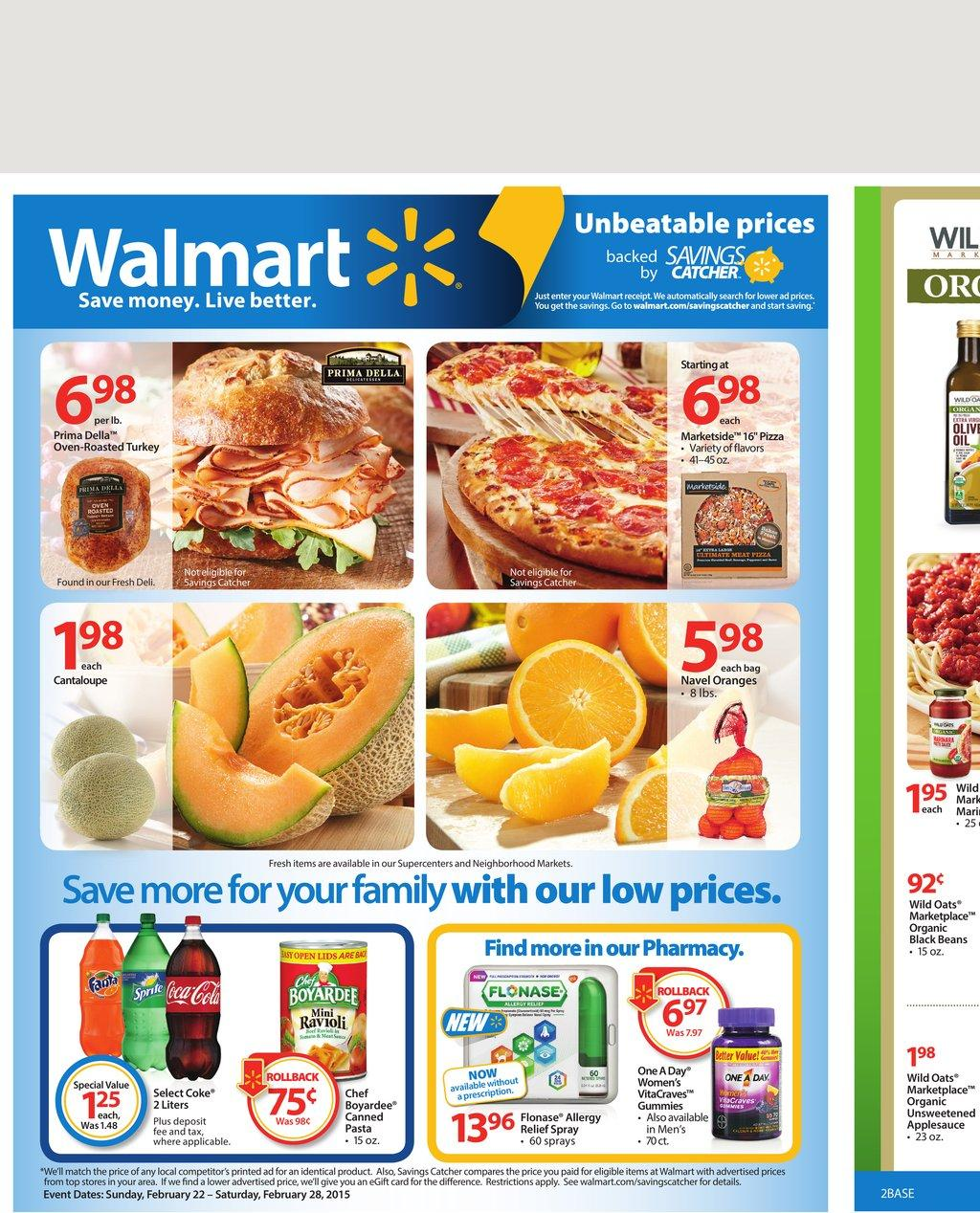 Walmart Black Friday Deals. Save up to 3% when you use the retailer credit card to pay the purchases, including 3% for online purchases and grocery pickup, 2% on Murphy USA & Walmart gas and 1% for in-store shopping and anywhere your card is accepted. Also, save $25 when you open the Credit Card and spend $25 in the same day. No annual fee.