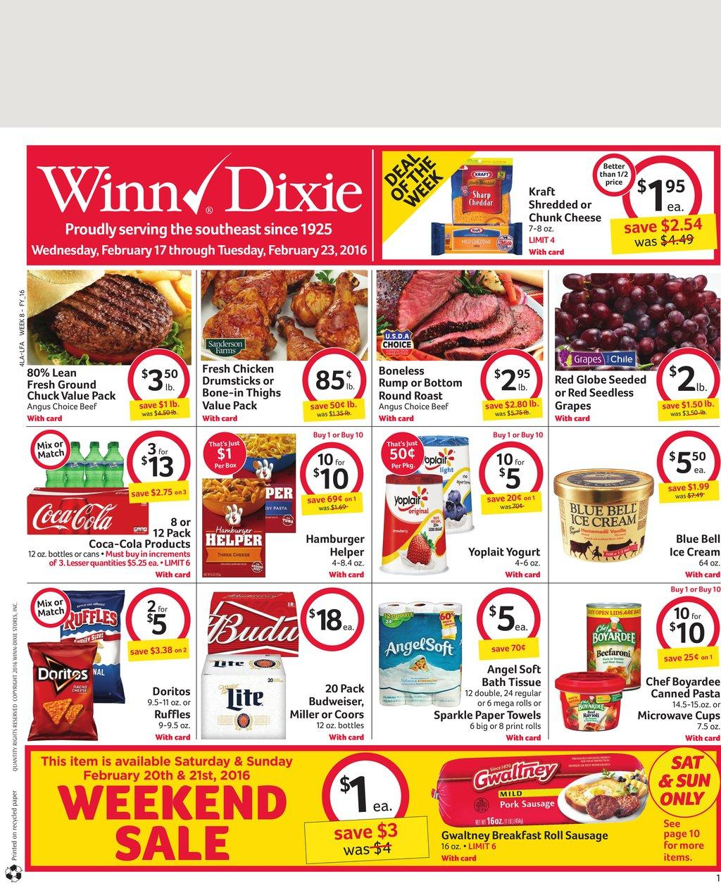 winn dixie sale papers Find the latest weekly circular ad & sunday flyer for winn dixie here also, save with coupons and the latest deals from winn dixie.