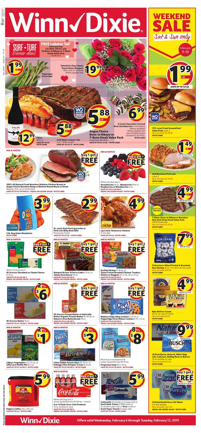 winn dixie weekly ad feb 6 2019